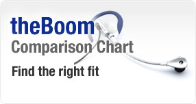 theBoom Comparison Chart